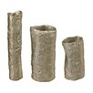 Sterling Industries 3 Piece Birch Bark Vase Set