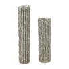 Sterling Industries 2 Piece Bamboo Pillar Candlestick Set