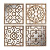 Sterling Industries Mirrored Wall Panel (Set of 4)