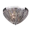 Sterling Industries 3 Light Semi-Flush Mount