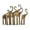 Sterling Industries Papillion Elephant Herd Figurine (Set of 2)