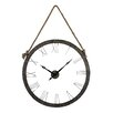 "Sterling Industries Oversized 36"" Hung On Rope Wall Clock"