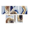 Sterling Industries Exclusive Fulvio Dot 5 Piece Graphic Art Plaque Set