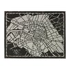 Sterling Industries Laser Cut Map Of Paris Circa 1790 Graphic Art on Canvas
