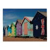 Sterling Industries Beach Hut Graphic Art on Canvas (Set of 2)