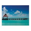 Sterling Industries Maldives Photographic Print on Canvas (Set of 2)