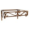 "D'Vontz Iron 21"" x 12"" Bathroom Shelf"