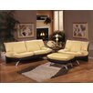 Omnia Leather Princeton Leather Living Room Set