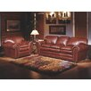 Omnia Leather Torre 3 Seat Leather Living Room Set
