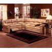 Omnia Leather Riviera Sleeper Sectional