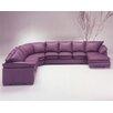 Omnia Leather Tribeca Loft Sleeper Sectional