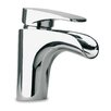Just Manufacturing Bathroom Faucet Lever Handle with Drain Assembly