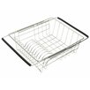 Just Manufacturing Stainless Steel Dish Rack with Extendable Arms