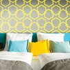 "Tempaper Honeycomb Self-Adhesive Removable  33' x 20.5"" Panel  Wallpaper"
