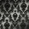 "Tempaper Damsel Temporary 33' x 20.5"" Damask Wallpaper"