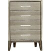 Hokku Designs Nyla 4 Drawer Chest
