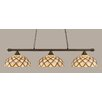 Toltec Lighting Oxford 3 Light Billiard Light