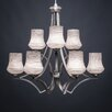Toltec Lighting Zilo 9 Light Chandelier