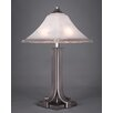 """Toltec Lighting Apollo 24.75"""" H Table Lamp with Bell Shade"""