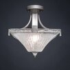 Toltec Lighting Apollo 2 Light Semi Flush Mount