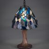 """Toltec Lighting 12"""" H Table Lamp with Bowl Shade"""