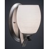 Toltec Lighting Zilo 1 Light Wall Sconce