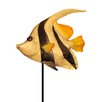 Angel Fish Garden Stake - Eangee Home Design Garden Statues and Outdoor Accents