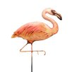 Flamingo Garden Stake - Eangee Home Design Garden Statues and Outdoor Accents