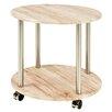 Haku Round Mobile Side Table