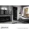 "Dreamline Allure 73"" x 40"" Frameless Pivot Shower Door"