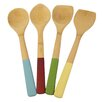 Architec 4 Piece Bamboo Cooking Spoon/Tool Set