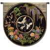 Fine Art Tapestries Abstract Cloisonne Jet by Acorn Studios Tapestry