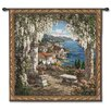 Fine Art Tapestries Classical Seaview Hideaway by Yuri Lee Tapestry