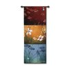 Fine Art Tapestries Abstract Aura BW by Don Li-Leger Tapestry