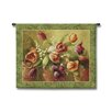 Fine Art Tapestries Classical Terrace Tulips by Fabrice DeVilleneuve Tapestry