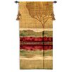 Fine Art Tapestries Abstract Autumn Collage II byTandi Venter Tapestry