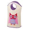 Whitmor, Inc Tote Owl Canvas Hamper