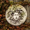 OrlandiStatuary Medusa Wall Plaque Wall Decor