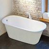 """Aquatica Inflection 61.5"""" x 29.5"""" Soaking bathtub"""