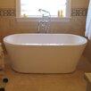"Aquatica PureScape 59"" x 27.5"" Freestanding Acrylic Bathtub"