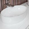 Aquatica Metamorfosi™ Oval Ceramic Bathroom Vessel Sink
