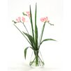 Distinctive Designs Waterlook Freesia with Grass in Rocker Vase