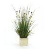 Distinctive Designs Mixed Faux Grasses in Planter