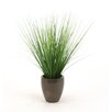 Distinctive Designs Silk Two-Tone Grass in Pot