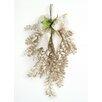 Distinctive Designs All That Glitters Locust Swag and Silver Chevron Ribbon