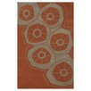Noble House Riviera Rust Area Rug