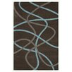 Noble House Swirl Charcoal Area Rug