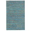Noble House Lazzarro Turquoise Area Rug