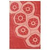 Noble House Riviera Light Red Area Rug
