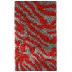 Noble House Pearl Gray / Red Area Rug